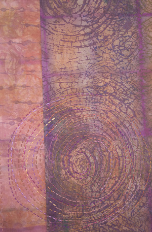 Detail View of original artwork by WA SDA member Peggy O'Heron.