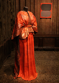 """Red Delphos Dress and Jacket,"" 2008 made by Isabelle de Brochgrave"