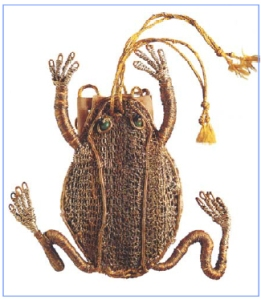 17th century Frog purse from the Asmoleum Collection