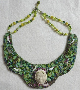 Necklace made by Pat Herkal
