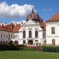 Royal Castle of Gödöllő. Photo by Péter Lóránd.