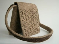 Woven Bag with Vanda Róbert