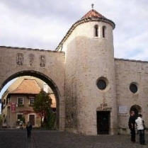 Veszprém, Castle gate. Photo by Wikicommons.