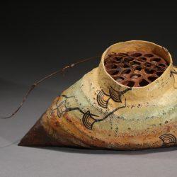 Detail of Eastern Garden Cocoon by Danielle Bodine