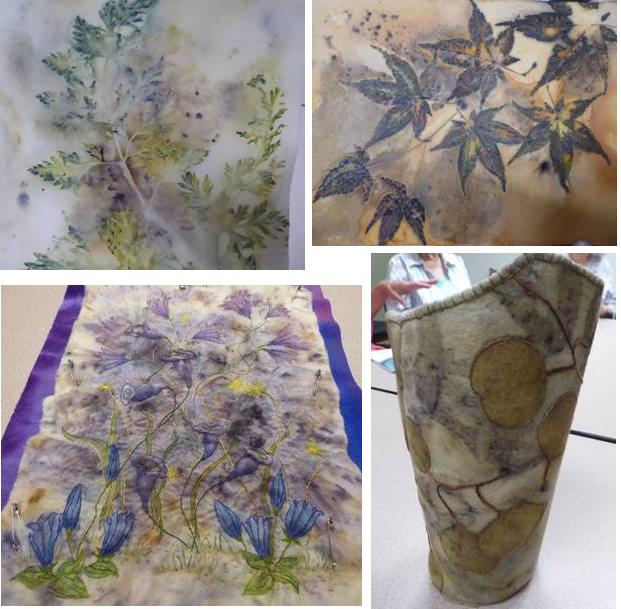 03 Eco dye pieces by Robyn