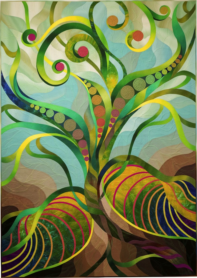06 Vine#2 by Caryl Bryer Fallert-Gentry