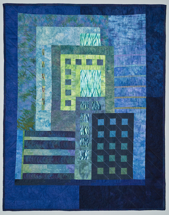 10 Cityscape Three by Kindy Kemp