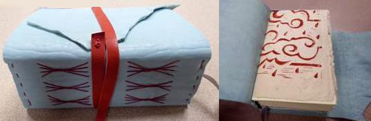 03-Handmade leather journal by Alana